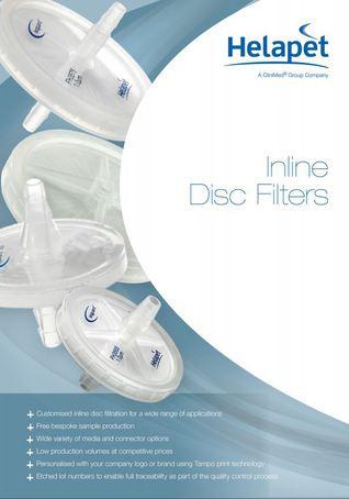 New Helapet Inline Disc Filters brochure