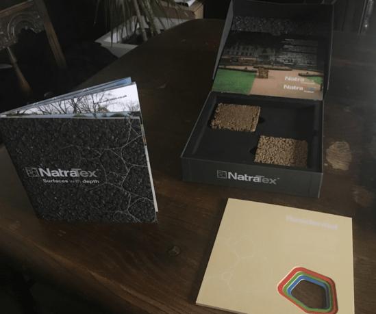 NatraTex sample box - including flapjack