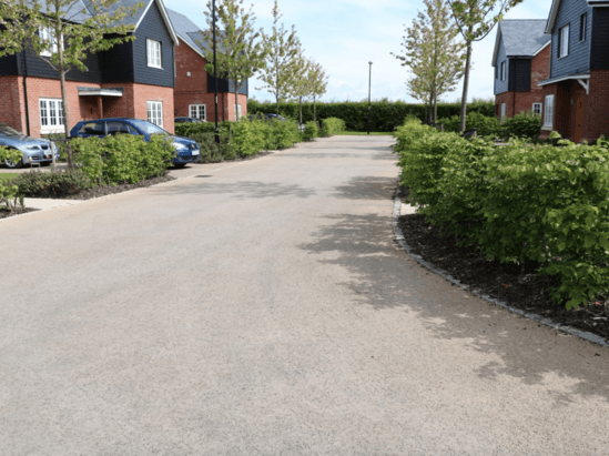 NatraTex Cotswold driveways for housing development