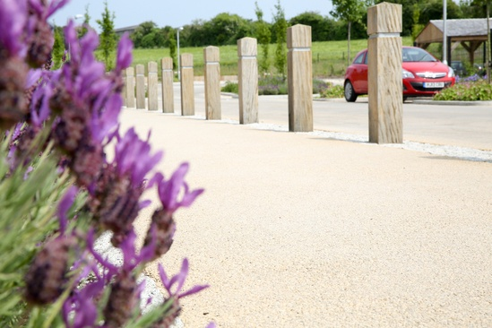 NatraTex Cotswold surfacing - Pimperne School