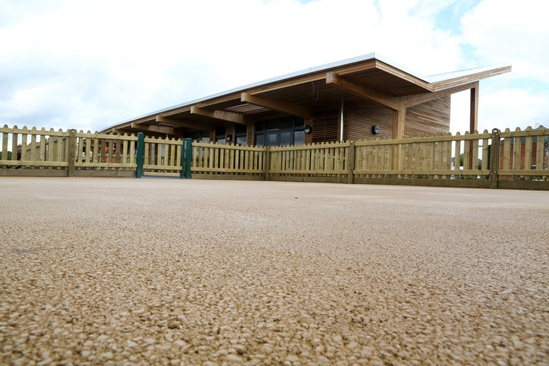 NatraTex Cotswold fully bonded surfacing