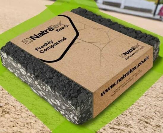 NatraTex Eco sustainable footpath and cycleway surfacin