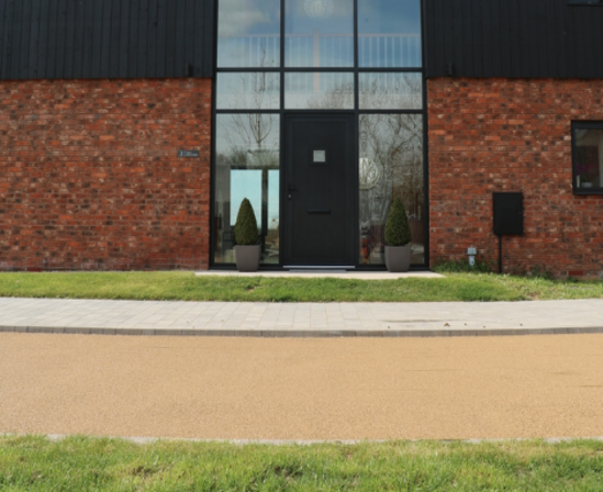 NatraTex an alternative to resin bound pavements