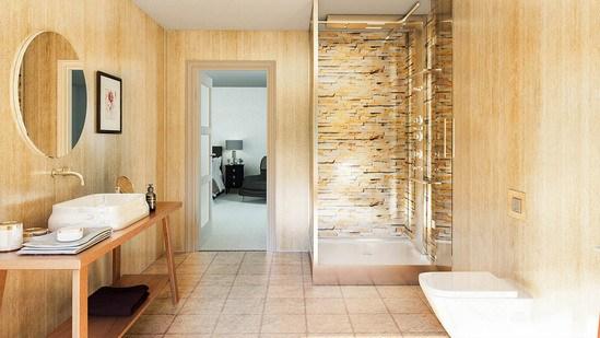 Multipanel Stick floor tiles - Sand Shale