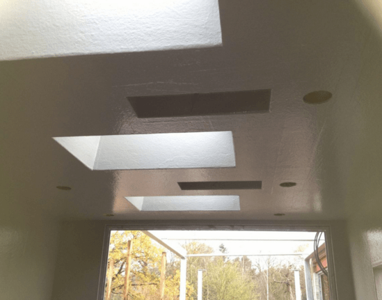 GRP wall and ceiling lining