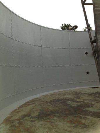 GRP tank lining