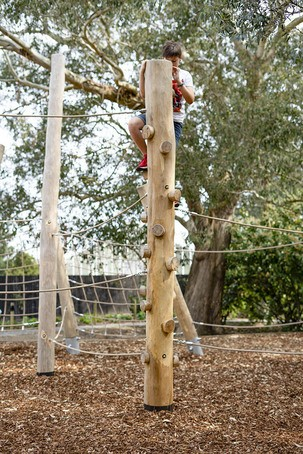 Climbing Trunk is suitable for children aged 3+ years
