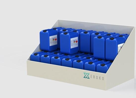 Bunded Chemical Drum Storage