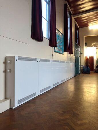 Radiator covers for school in West Yorkshire