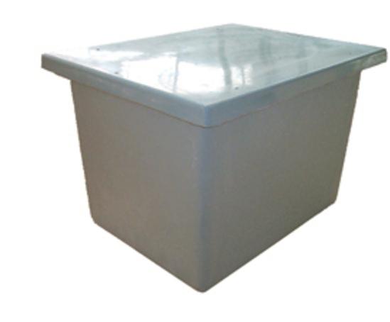 One piece GRP water storage tank