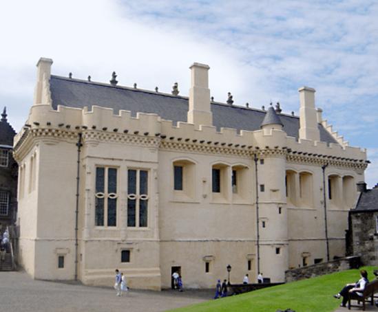 Catcastle Grey sandstone, Stirling Castle restoration