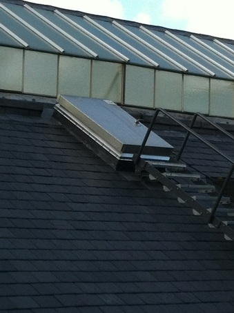 Roof Hatches At Ironmonger Row Baths Bilco Uk Esi