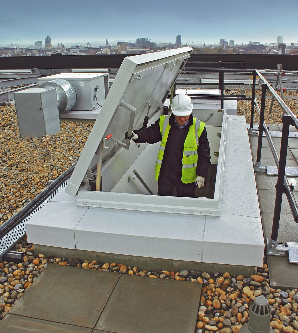 Design Considerations For Roof Hatches Bilco Uk Esi