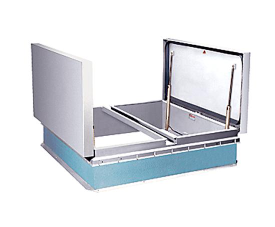 Type UDF 50REM aluminium smoke vent