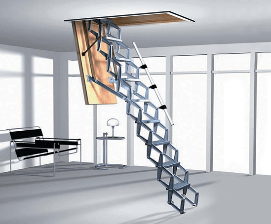 Type BL-Z retractable ladder