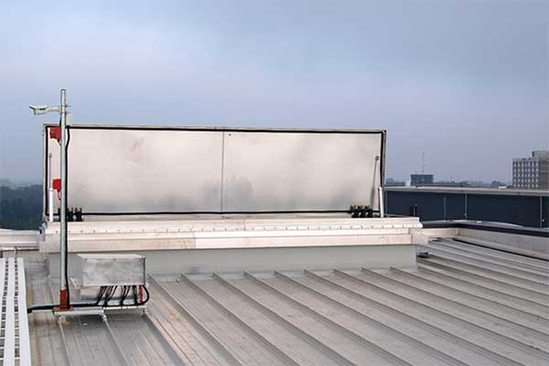 NSHEV Natural Smoke and Heat Vent enables roof access