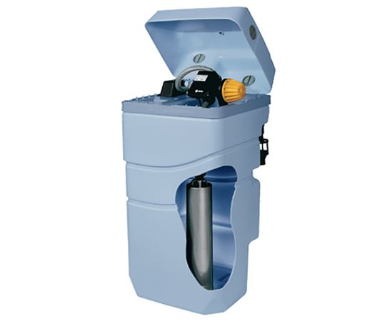 Aquabox compact storage tank and pressure set