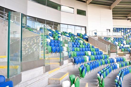 Ferco FCB M stadium and sports seats at Windsor Park
