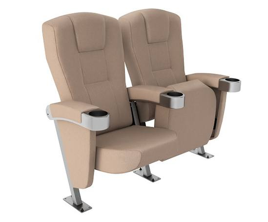 Paragon 755 fully upholstered cinema seat