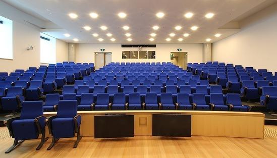 Auditorium seating - Sydney University lecture theatre