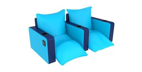 Ariel lounger cinema seat