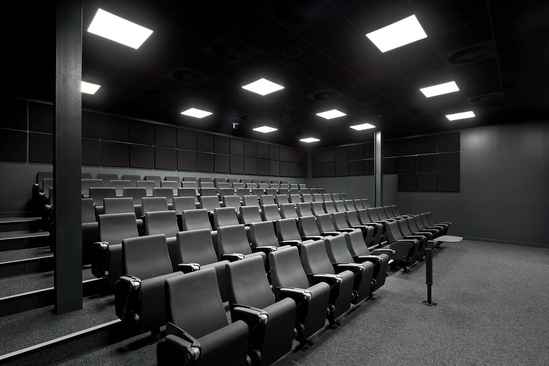 FT10 seats; Gymshark Lifting Club UK HQ (Richard Kiely)