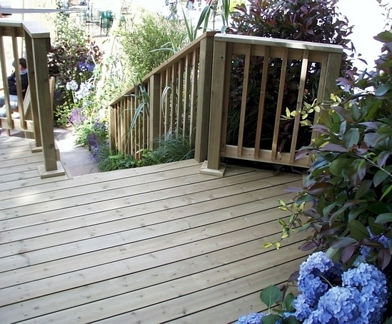 Q deck york style softwood decking boards 33x120mm for Softwood decking boards