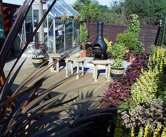 Q deck cambridge style decking boards for Cheap decking boards uk