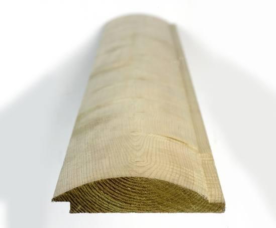 Q-Garden Pre-treated Timber Loglap Cladding 20.5 x 95mm