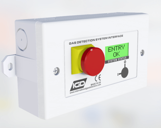 2-Wire addressable room status indicator