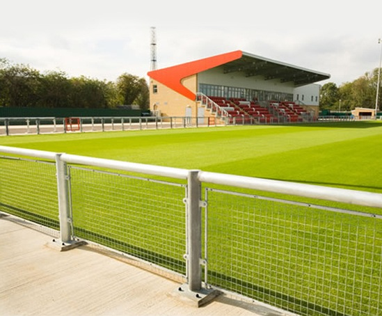 Sports Stadia Metalwork Harlow Town Football Club M Amp G