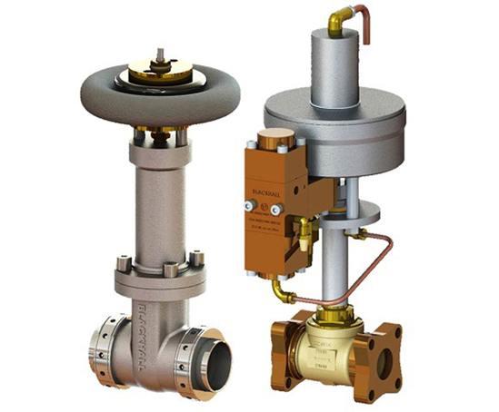 Spring shut off gate valve Series 2020