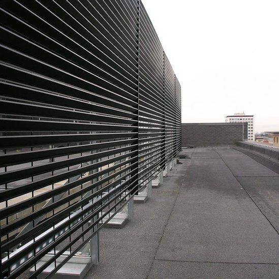 Steel Louvred Enclosures Lang Fulton Esi Building Services