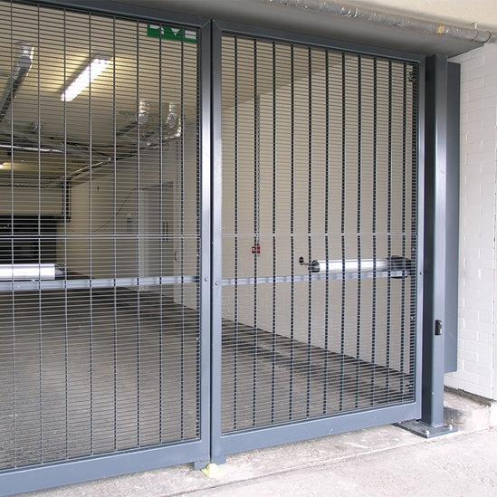Perimeter Fencing And Gates For Apartment Block Refurb