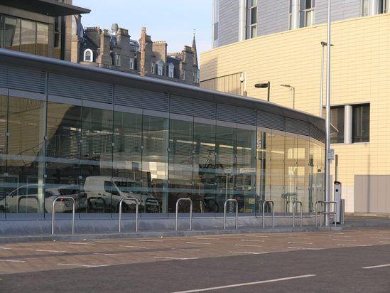 Cycle hub - Dundee railway station