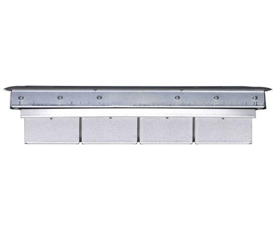 Individual compartment floor box cmd ltd esi building for 1 compartment floor box
