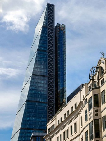 The iconic Leadenhall Building, London
