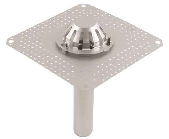 75mm siphonic roof drain outlet for bitumen membranes. Black Bedroom Furniture Sets. Home Design Ideas
