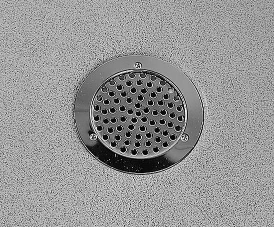 Domestic 214 drain for flexible flooring