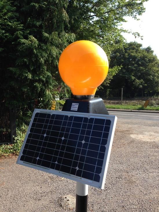 Solar Powered Belisha Beacon Street Furnishings Esi