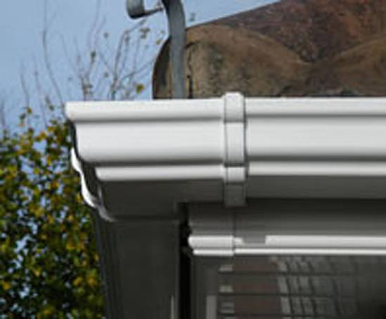 Pvc U Ogee Guttering With High Recycled Content Swish