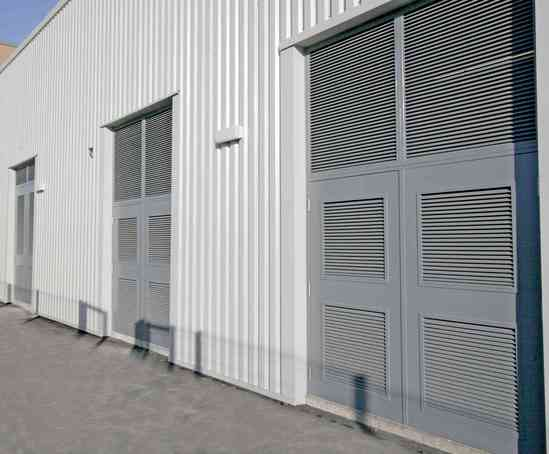Uniguard hinged steel security doors