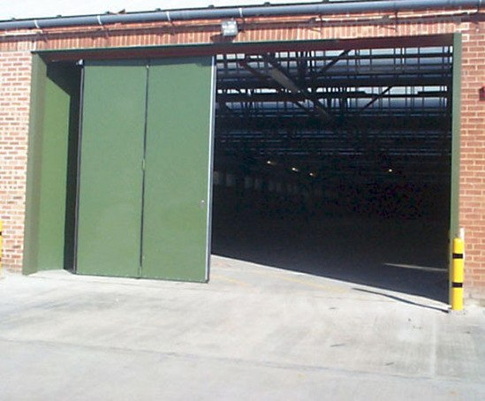 Sonafold Insulated Industrial Folding Doors Bolton Gate