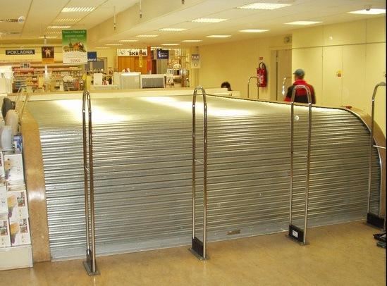 Escalator Fire Resistant Roller Shutter Bolton Gate