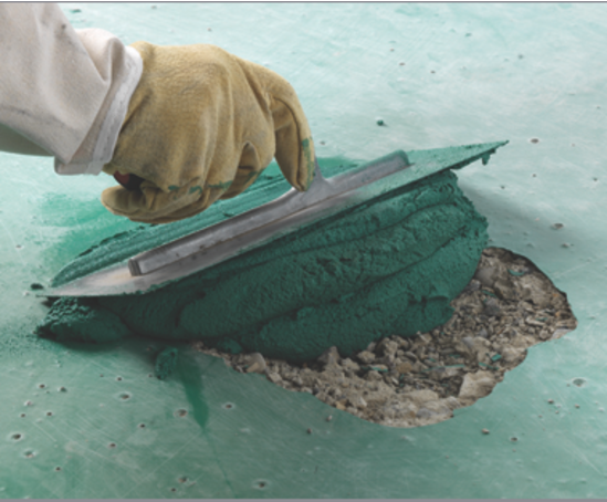 Concrex® repair mortar
