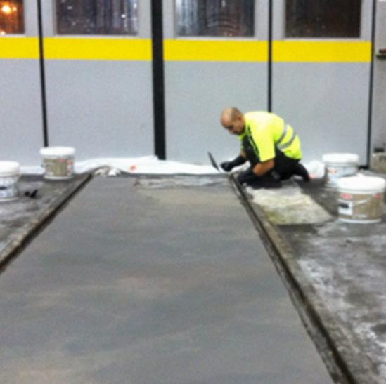 Concrete repairs for sncf rail warehouse watco uk esi for Arisen interior decoration contractors
