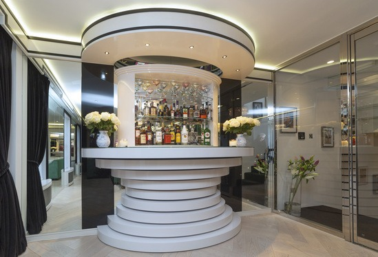 MTX and MEDITE MR panelling in luxury London home