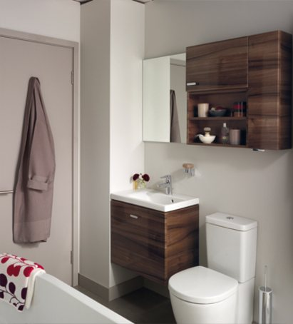 Concept space solutions for small bathrooms ideal standard esi interior design - Small toilets for tight spaces concept ...