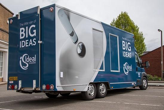 Ideal Standard's mobile showroom returns this summer