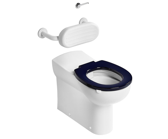 Contour 21 back to wall rimless WC pan - 70cm